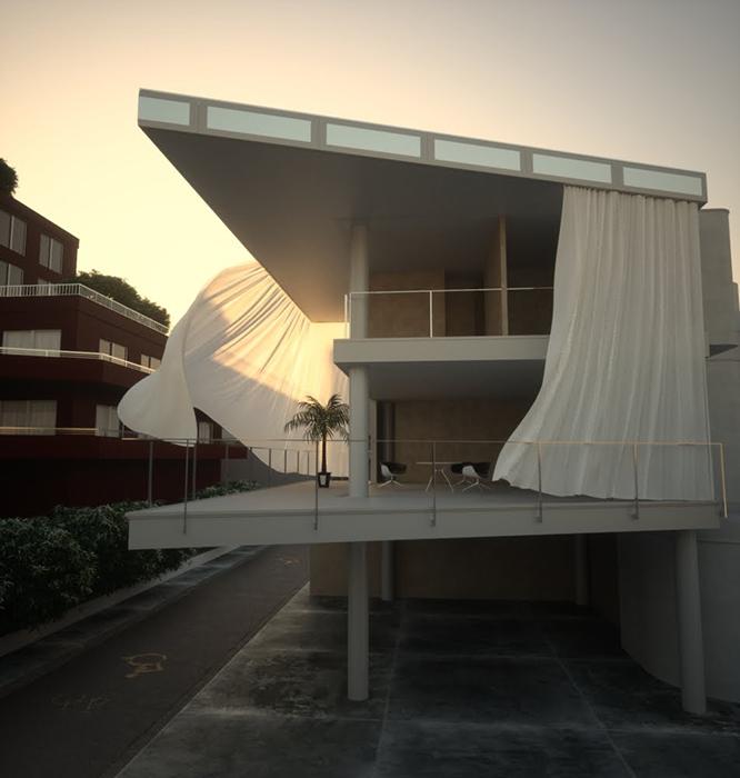 curtainwallhouse