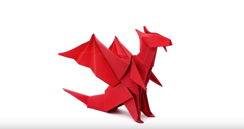 How-to-make-red-origami-dragon-video-tutorial77